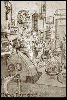 Marvin's Workshop by princendymion