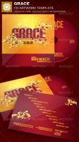 Grace CD Artwork Template by loswl