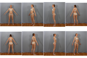 Free 3D Model Reference Pack F - Pose 1 by SenshiStock