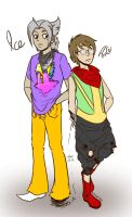 Tracer and bro by SaturnicSorian