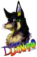 :Badge commission: D'Jango by GaruryKai