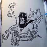 Inktober #1 Space Ghost by MarcosMachina
