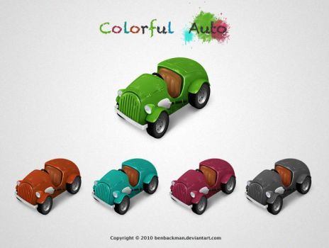 Colorful Auto by benbackman