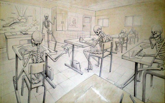 Anatomy lesson 2008 by MateoGraph