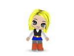 Buddypoke: Android 18 by Knuxamyloverfan