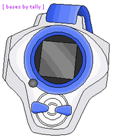 D-Power or D-Arc Digivice by basesbytally