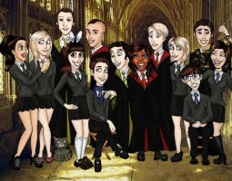 Hogwarts' ''Glee Club'' by ZiyalRising