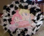 Sailor Moon Pinata by silvermoonmagic