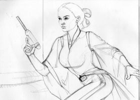 Padme sketch by AllisonSohn
