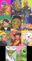 Sketchcards - Doctor Who 2 by Sideways8Studios