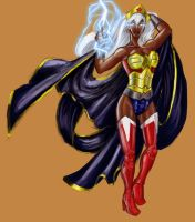 Ororo of Themiscyra by avidcartoonfans