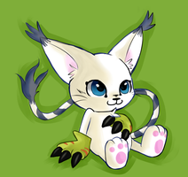 Gatomon by Nigko