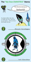 My Omnitrix Meme - Filled by TeeheeXD