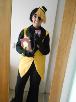 Bill Cipher Cosplay Complete by AmyChoppies