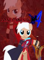Pony May Cry 4 Poster by Shadowpredator100
