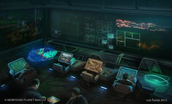 Scifi room by LuisTomas