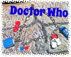 Doctor Who ~inspired~ Bracelet by MoldedMagic