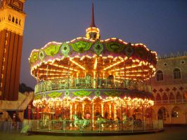 Merry-go-round by 13BlackSTOCK