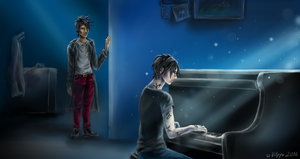 Fragility of the Flow (Malec) by Stranger-Z