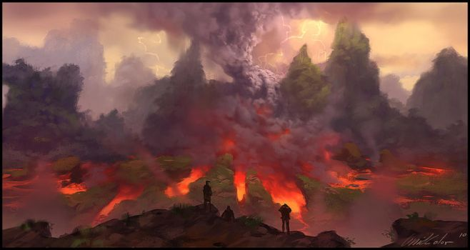Vulcano Eruption by UnidColor