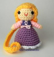 Disney's Rapunzel Amigurumi by janageek