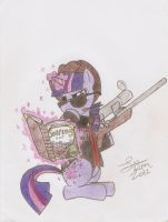 MLP: FIM/TF2- Twilight Sparkle Sniper by Dattebayo681