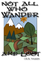 All who wander... by HATE-LOVE-FEAR-ANGER