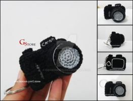 Crochet Canon DSLR Camera by GehadMekki