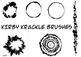 Kirby Krackle Brushes by pascal-verhoef