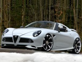 Alfa Romeo 8C Soft-top Targa by TKtuning