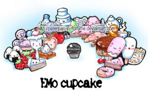 EMO cupcake. by PeterPan-Syndrome