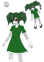CP:  The Green Doll by Fusaex3