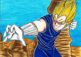 Victory for Vegeta by Mihoshi5