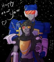 TF G1+OC Happy new year by Pandablubb