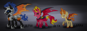Demon Pony Comparison by Wolframclaws