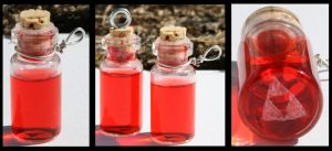 Legend of Zelda Red Potion by GeneveveX