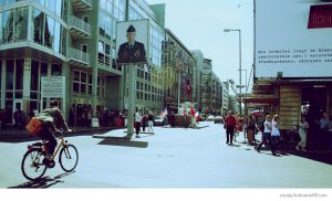 Checkpoint Charlie by ciscotjuh