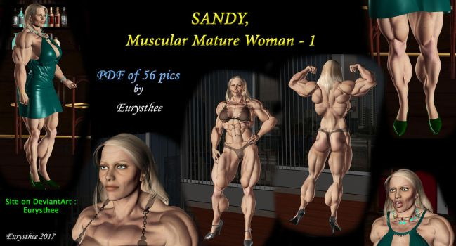 Sandy muscular mature woman - pdf 1 by eurysthee