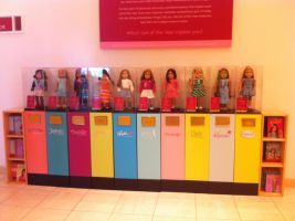 Updated Girl of the Year display by Kataang102