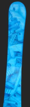 Snowboard Airbrushed M.C. Escher Style Stairs by adamelindalander