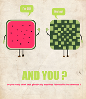 Poster 'Watermelon' by oxanaart