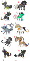 CLOSED Demon feline breedables + adopts! by alfvie