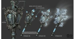 Soul of water and ice mace by Lee99