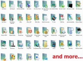 Vista RTM Folders- 104 icons by kmilo17pet