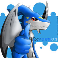 ~ Exveemon ~ by ZackAmperez