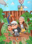 Pixar's Up by johnnyism