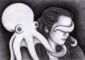 SP with octopus: don't look by katelouise84