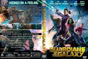 Guardians Of The Galaxy DVD Cover by superjabba425