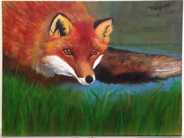 The Fox's Reticence by BlissfulMelody