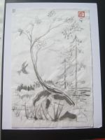 A tribute ti a friend Forest by Iolii